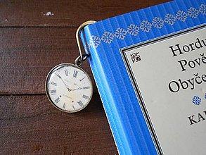 Papiernictvo - Záložka do knihy- vintage - 5782345_