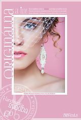 Náušnice - Svadobné s perlami - 5781389_