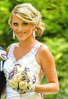 Náušnice - Wedding day - náušnice - 5781205_