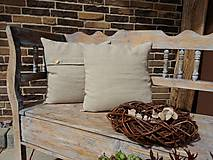 Úžitkový textil - Vankúš Pure Linen - 5782384_