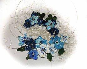 Sady šperkov - blue flowers - 5786269_