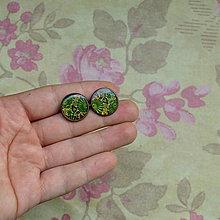 Náušnice - Bankura -   puzetové náušnice 16 mm - 5786108_