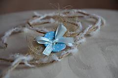 Ozdoby do vlasov - Čelenka nežný gombíček - 5786157_