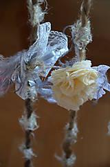 Ozdoby do vlasov - Čelenka, perla v krajke odetá - 5787266_