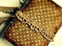 Papiernictvo - Čokoládkový sen - materiál mám ešte na 1 ks - 5786928_