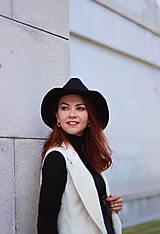 Iné oblečenie - Biela vesta/ sako bez rukávov - 5785431_