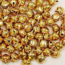 Galantéria - Roľničky zlaté 6x11mm - 5786815_