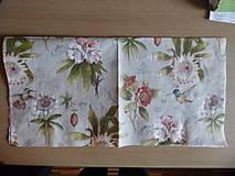 Papier - kvietky a kolibríky - 5785451_