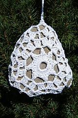Dekorácie - Háčkovaná kamenná dekorácia - 5787514_
