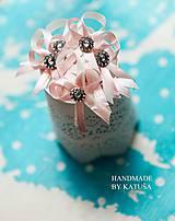Pierka - vintage svadobné pierka - 5790336_