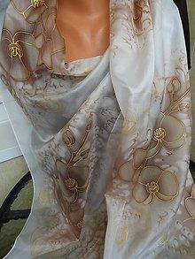 Šatky - orchidea - 5789302_