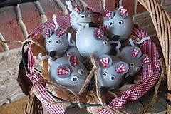 Dekorácie - Sivé Myšky - Pipíšky  - 5789767_