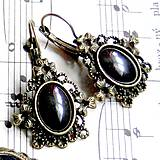 Vintage Hematite with Ornaments