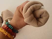 Obuv - CAPAČKY pre dospelých z ovčieho runa - 5790560_