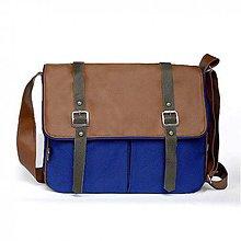 Kabelky - Denver (unisex taška hnedá) - 5791487_