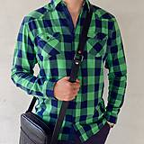 Tašky - Kožená taška SPORT - L - 5793667_