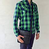 Tašky - Kožená taška SPORT - L - 5793678_
