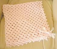 Textil - Deka pre dievčatko - 5794216_