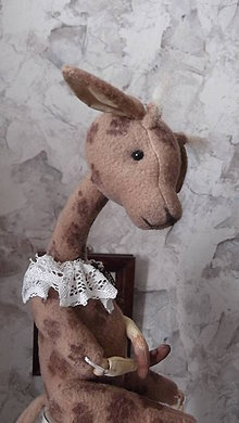 Bábiky - žirafka - 5793967_