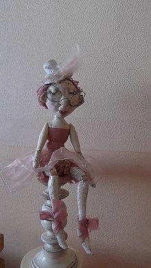 Bábiky - baletka á la porcelán - 5793989_