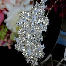 Ozdoby do vlasov - Wedding Lace Collection Orient ... čelenka - 5799158_