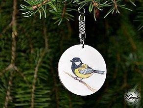 Kľúčenky - Vtáča - prívesok na kľúče - 5798643_