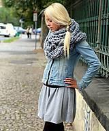 Sukne - Úpletová sukňa - 5799314_