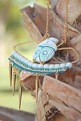Náhrdelníky - Náhrdelník - BOAST OF QUEEN NEFERTITI (Egypt) - 5798717_
