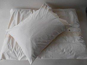 Úžitkový textil - Luxusné návliečky 2+2 s krajkou ECRA - 5795941_