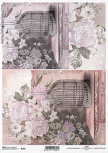 Papier - Ryžový papier Klietky 764 - 5797308_
