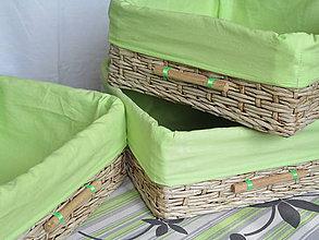 Košíky - Breza v jablkovej košieľke - 5800633_