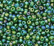 Korálky - Sklenené korálky malé 4x3,5mm (balíček 50g) - 5800036_