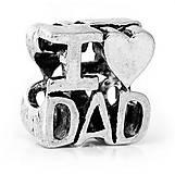 Pandorková korálka I LOVE DAD
