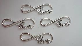 - Konektor nekonečno - LOVE - 5801473_