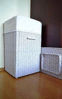 Košíky - Prádlový kôš DENI - 5800169_