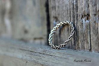 Prstene - Jemná obrúčka Ag - 5801697_