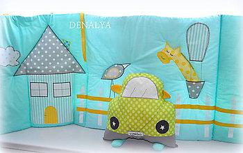 Textil - Do detskej izby Veľký Mantinel na stenu 50x200cm - 5807943_