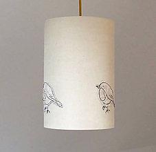 Svietidlá a sviečky - Stropní stínítko Ptáček - 5805277_