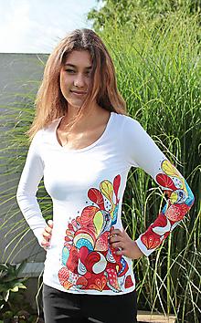 Tričká - Tričko - Farebné veselie - 5806824_