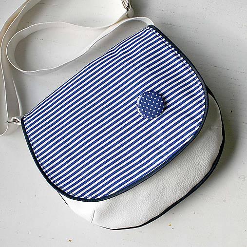 Adeline (bielo-modrá)