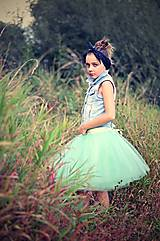 Sukne - Tylová sukňa MINT - 5807212_