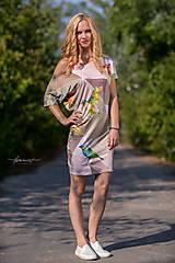 Šaty - Geometrical birds - šaty - 5805947_