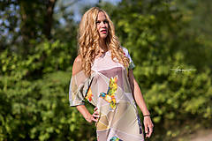 Šaty - Geometrical birds - šaty - 5805948_
