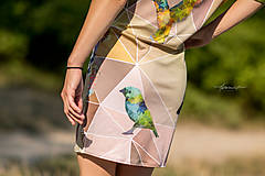 Šaty - Geometrical birds - šaty - 5805949_