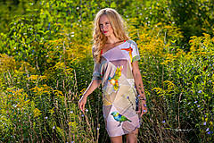 Šaty - Geometrical birds - šaty - 5805952_