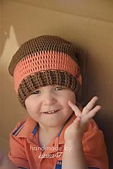 Detské čiapky - Prechodná... homeless bez šiltu