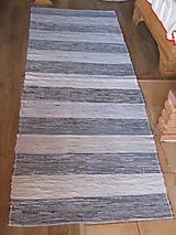 Úžitkový textil - KOBEREC tkaný rifľový 80 x 250cm - 5809882_