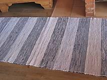 Úžitkový textil - KOBEREC tkaný rifľový 80 x 250cm - 5809887_