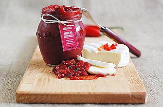 Potraviny - Medená brusnica- Brusnicová omáčka s medovinou - 5809840_