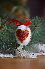 Dekorácie - Orech srdce opustené - 5811531_
